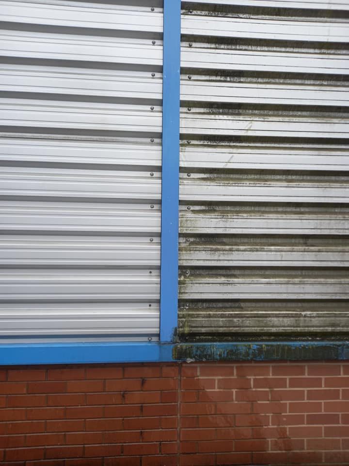 Cladding Cleaning Redditch